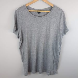 Torrid Women's T-shirt Basic Grey Plus Size 2XL